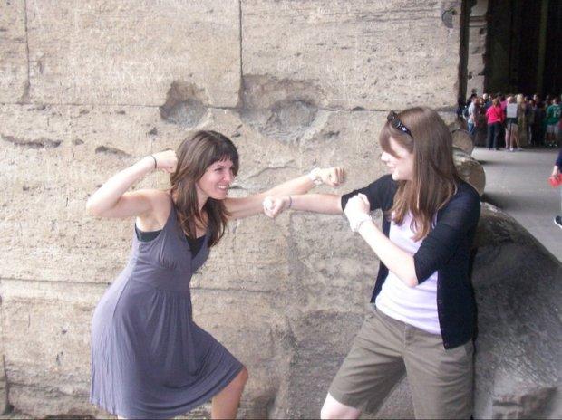 Roman Coliseum with Meredith