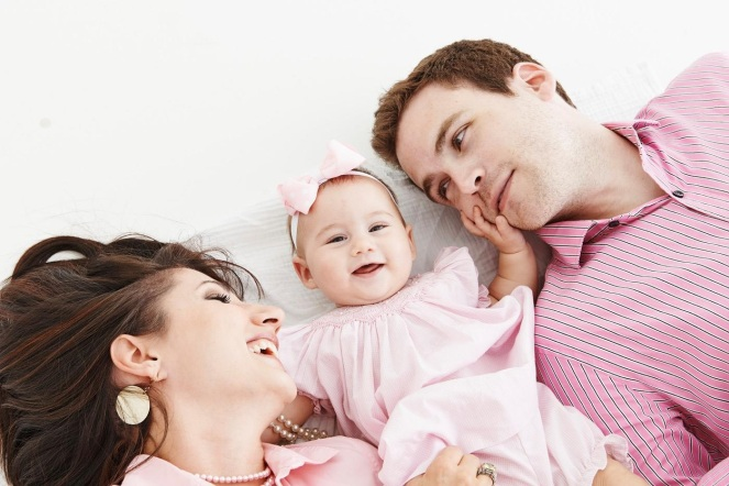 Jenni, Evan, & Baby